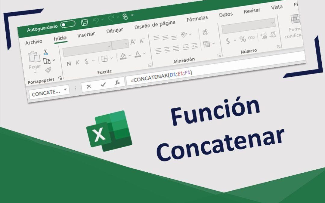 Función Concatenar en Excel: Qué es y ejemplos de cómo se utiliza